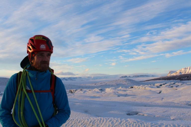 Jon Andresson, expert explorer in Iceland